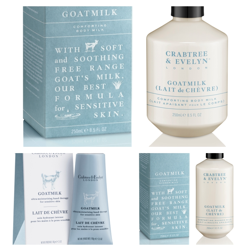 Goatmilk from Crabtree & Evelyn is back