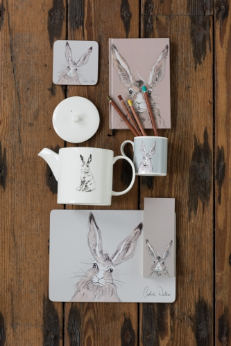 Image of Caroline Walker, Hares range of tabletop gifts