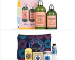 Just arrived in store – L'Occitane special offers for 2018