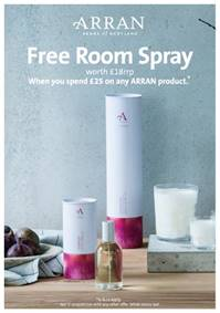 Arran Home Room Spray – Gift with Purchase