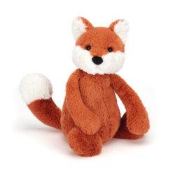 JELLYCAT SOFT TOY BASHFUL FOX CUB
