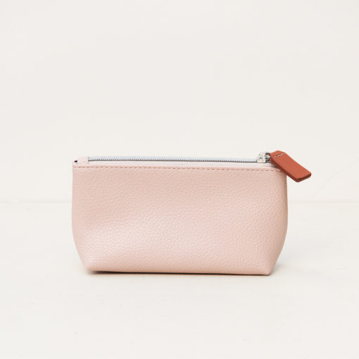 Dusty Pink Cosmetic Bag