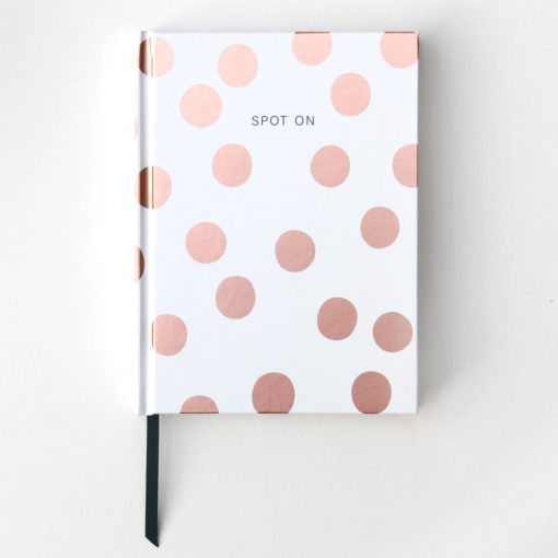 Spotty notebook