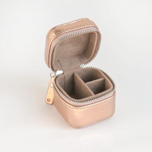 Rose Gold Mini Jewellery Box