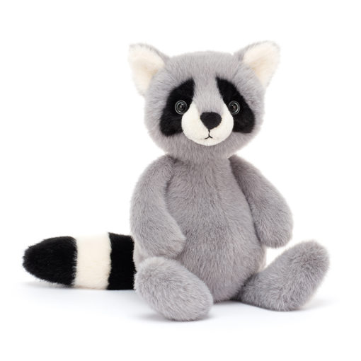 JELLYCAT SOFT TOY WHISPIT RACOON